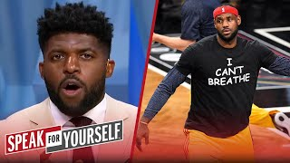 NBA painting BLM & plan for custom nameplates won't lead to real change – Acho | SPEAK FOR YOURSELF