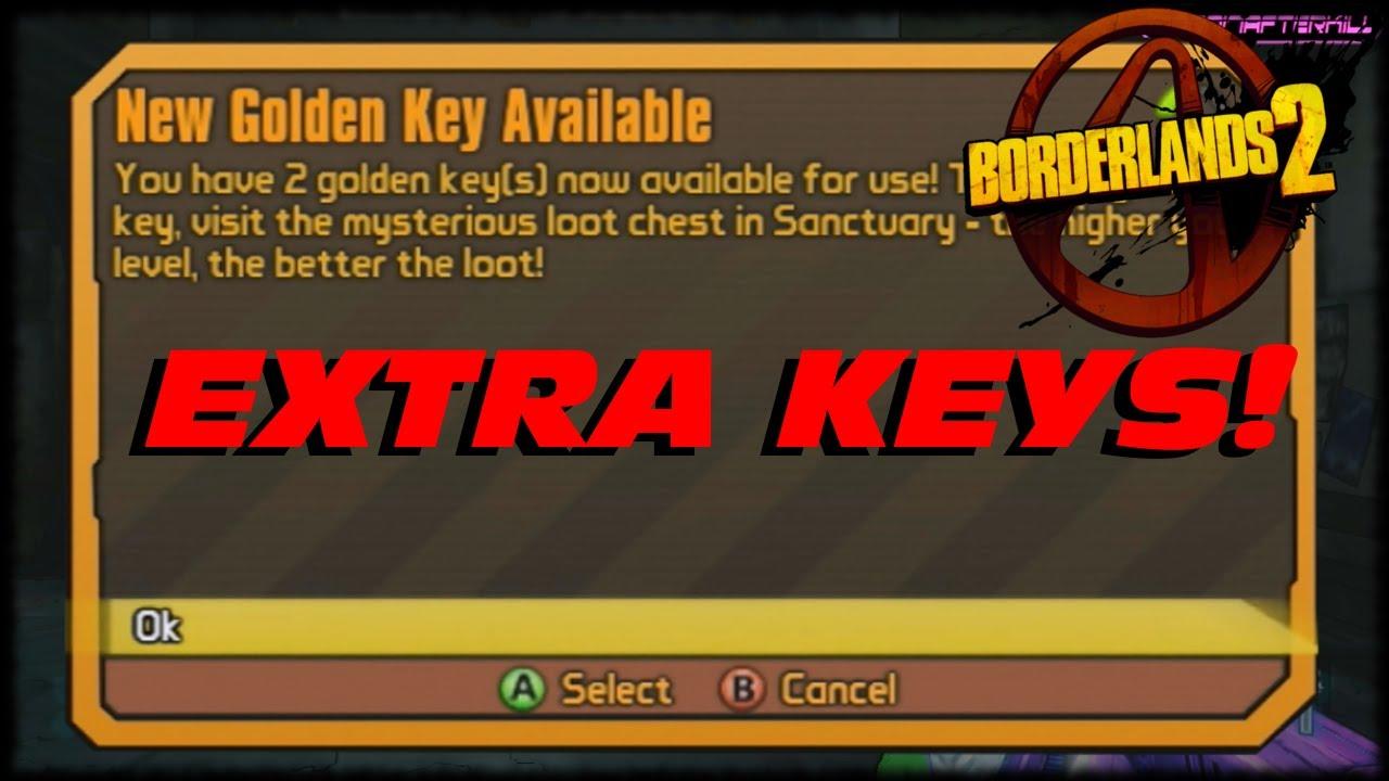 Borderlands 2 Five Golden Key Codes Celebrating Borderlands 2 Four Video Game Awards at VGA's ...