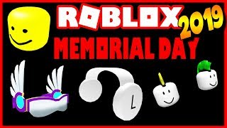 Roblox MEMORIAL DAY 2019: ¿OBJETOS? ¿ESTÁ CANCELADO? ( video antiguo )