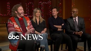 Office Christmas Party | Full Cast Interview with Jennifer Aniston, Jason Bateman, & More