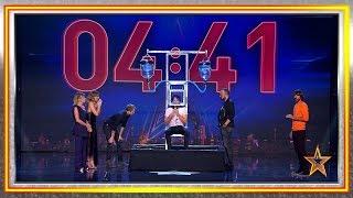 ¡Increíble! Es capaz de estar más de 6 minutos bajo el agua | Audiciones 1 | Got Talent España 2019
