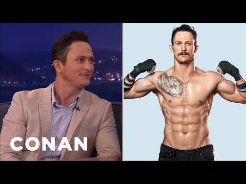 "Jonathan Tucker Is Super-Jacked In ""Kingdom""  - CONAN on TBS"