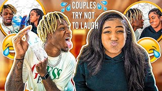 COUPLES TRY NOT TO LAUGH😂|WATER EDITION💦| HILARIOUS