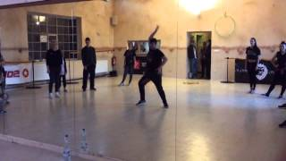 Whacking routine by Gangster IHOAP @Work it out dance workshops vol 2