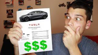 How much I pay for my 2020 Tesla Model 3 (FULL FINANCING BREAKDOWN)