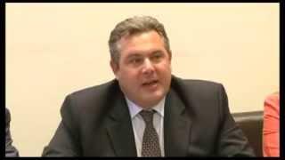 Ο Πάνος Καμμένος στην Κόρινθο - Συνέντευξη Τύπου 03-06-2013