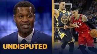 Stephen Jackson reacts to the Raptors' win over Warriors without Kawhi Leonard | NBA | UNDISPUTED