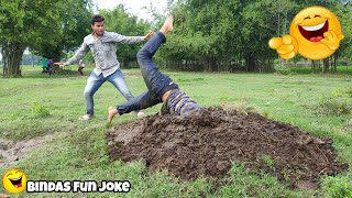 Bindas Fun Joke | New Funny Video Hindi comedy 2020 try not to laugh challenge must watch