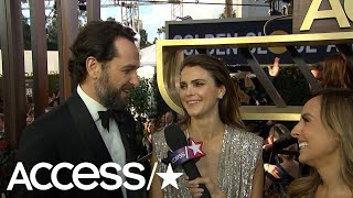 Keri Russell Reveals She 'Went Home & Ate Toaster Waffles' After Winning A Golden Globe 20 Years Ago