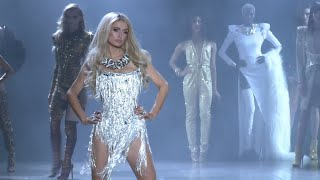 Paris Hilton rocks the catwalk