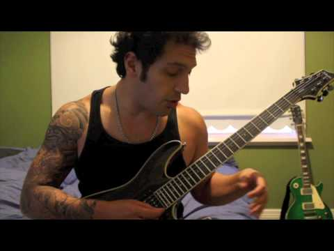 How to play 'Asian Hooker' by Steel Panther Guitar Solo Lesson