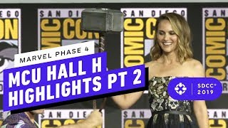 Marvel Studios: MCU Phase 4 Hall H Panel Highlights Pt. 2 - Comic Con 2019