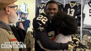 Mark Ingram goes undercover to shock local Saints fans   NFL Countdown
