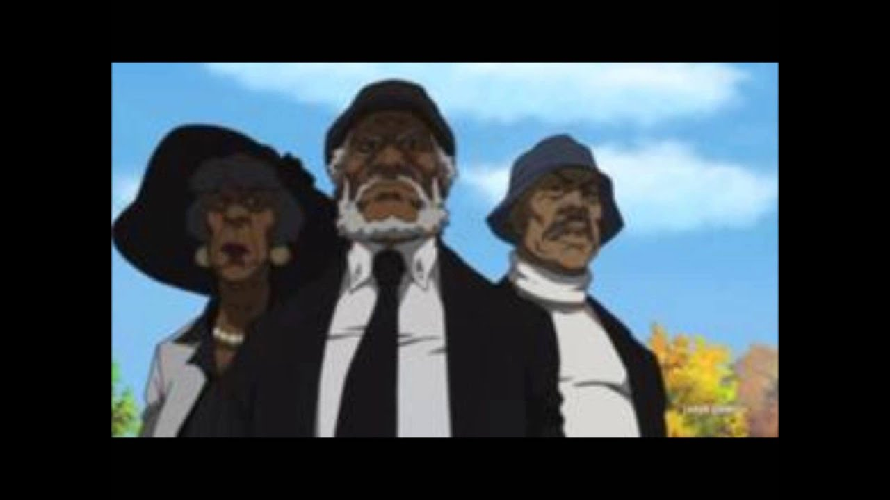 The Boondocks- Bushido Brown vs The Hateocracy(Extended ...
