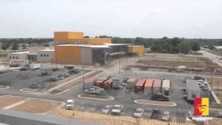 The Bicknell Family Center for the Arts (construction time lapse)