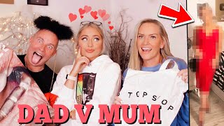 My parents choose my 'FIRST DATE' outfit.. MUM VS DAD!!!