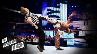 Referees Get Wrecked: WWE Top 10