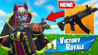 *NEW* SUBMACHINE GUN GAMEPLAY In Fortnite Battle Royale!