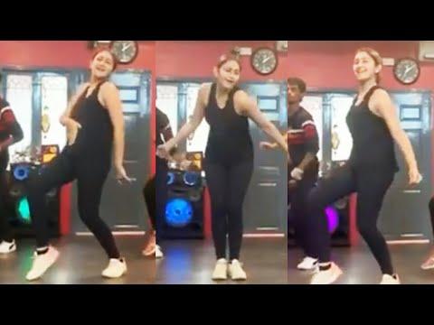 Watch: Actress Sayyeshaa dance practice video