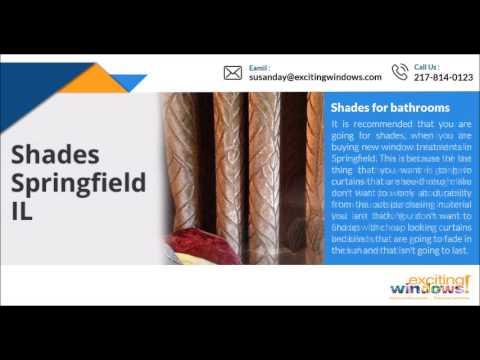 Window treatments in Springfield: Guide in choosing the best one