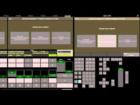 dot2: Updating/Editing Presets & Cues
