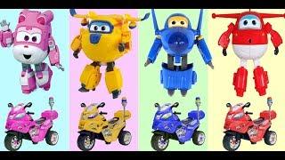 [출동 슈퍼윙스/Superwings] 제 4화 | Kids Learning Colors -  Робокар Поли и его друзья - Все серии подряд HD