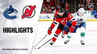 Game Highlights Canucks @ Devils 10/19/19 Highlights