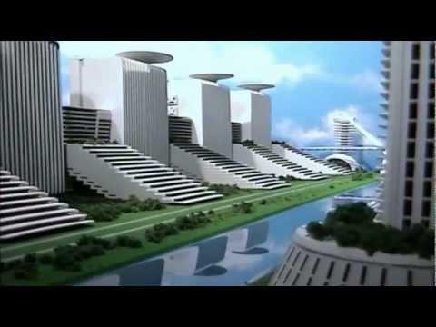 3D представление города будущего