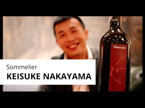 Learn from the pro: Keisuke Nakayama tastes the flavors of Talamonti Kudos
