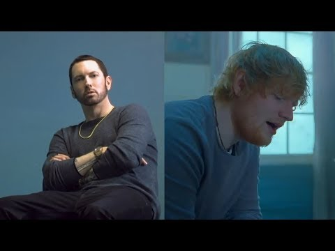 Eminem and Ed Sheeran Show Harsh Realities of Bad Relationships In 'River' Video
