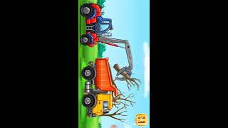 Car Assembly With The Little Children    Children's Game Channel