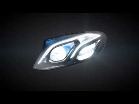 MULTIBEAM LED headlamps in the new E Class