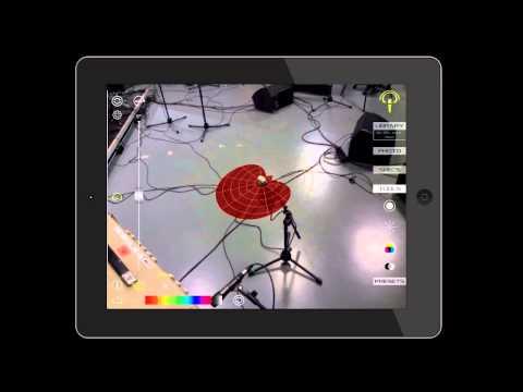 Ejemplo de uso de Arapolarmic  en un amplificador de gtr eléctrica con el micrófono Mojave MA-200.
