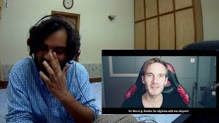 Indian Musician Reacts Pewdiepie Congratulations (Cried at Bro fist)