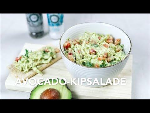 Avocado-kipsalade Herhealth.nl