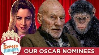 Screen Junkies 2017 Oscar Nominations: Our Academy Awards Picks
