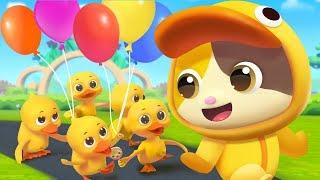 Five Little Ducks | Nursery Rhymes | Kids Songs | Kids Cartoon | BabyBus