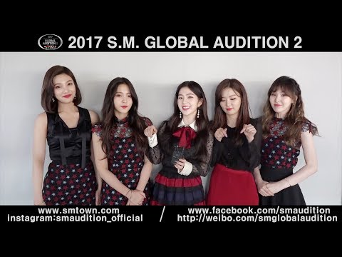 [S.M. ARTIST MESSAGE] 2017 S.M. GLOBAL AUDITION SEASON 2