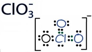 ClO3- Lewis Structure - How to Draw the Lewis Structure for ClO3- (Chlorate Ion)