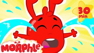 Oh no! Morphle is crying! Mila left him alone! Crying video for kids.