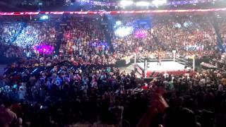 Paige (WWE Raw Debut)