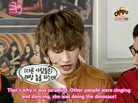 What was Eunhyuk's first impersssion of SNSD(Yuri)?