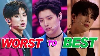 Worst to Best Produce X 101 Performances