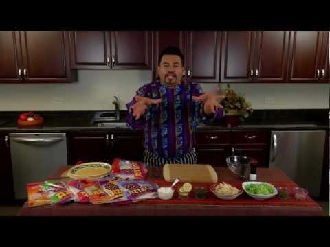 Azteca Food's Chef Gustavo Presents Turkey Walnut Salad Wraps