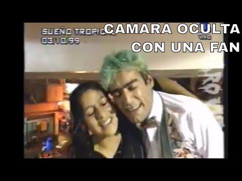 El Potro Rodrigo camara oculta a una fan (1999)
