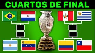 Copa America 2019 PRONOSTICO DEFINITIVO Cuartos Final