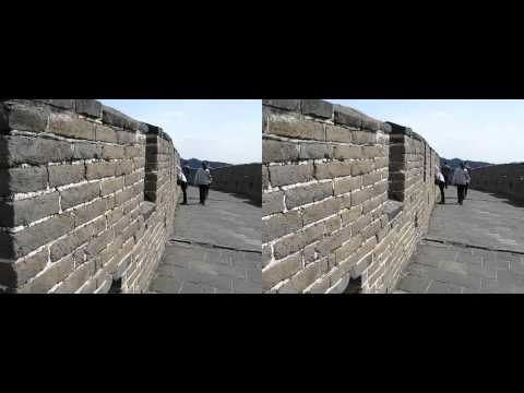 Great Wall of China in 3d YT3D