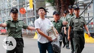 """Joshua Wong ra tù: """"Người Hồng Kông sẽ không im lặng trước sự đàn áp của Tập Cận Bình!"""""""