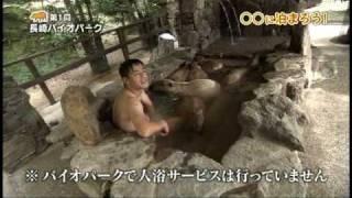 カピバラと入浴