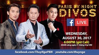 Livestream với Đan Nguyên, Bằng Kiều, Dương Triệu Vũ để giới thiệu PBN Live Show